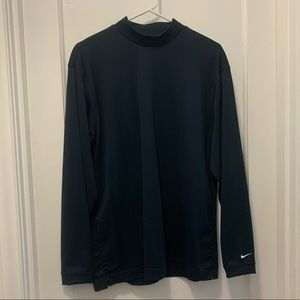 Nike Golf Dry-Fit Mock Turtle Neck   Sz. M